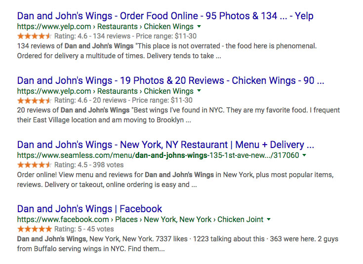 Chicken Wing reviews